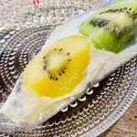 150765706 - 靑の食パン贅沢フルーツサンド                       キウイフルーツミルククリーム
