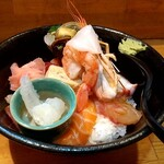 一寸法師 - 上海鮮丼 税込1000円
