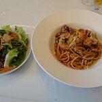 ピッツェリア ポジターノ - 料理写真:イイダコがたっぷり