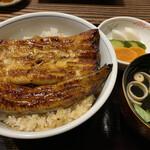 鰻のひろ田 - うな丼 信長(1枚半) 3,080円