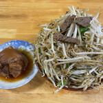 前田食堂 - てびちと牛肉そば