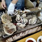 ミルキー鉄男のかき小屋 - 牡蠣
