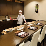 おが和 - ◎今回もコロナ禍のため、貸し切りで食事を楽しむ事ができた。
