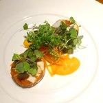 Speranza - 地蛸と里芋のテリーヌ オレンジのソース添え