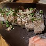 酒と料理のなつ - さばの棒寿司