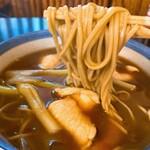 Kandamatsuya - 「鴨南蛮カレー蕎麦」(1210円)