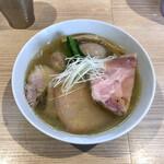 中村麺三郎商店 - 特製塩らぁ麺