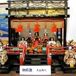久田屋 - 2009.4.3 大正時代の雛壇