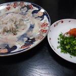 瓢寿司  - 冬限定! トラフグの刺身