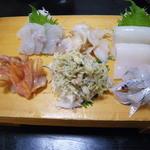 瓢寿司  - 刺身盛り合わせパート2