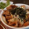 スウィーツカフェ AMU CHOCO - 料理写真:豚肉味噌炒め大盛り