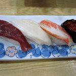 ふらの 海の花 - 2012年宴会料理3000円。握り。