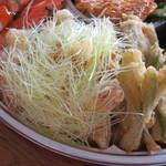 イタリアンレストラン Zucca - ヤングコーンと山菜のフリット
