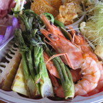 イタリアンレストラン Zucca - 天使の海老と山菜