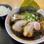 麺処 象山屋 - 料理写真:極みBLACK@830円(税込)&半ライス@80円(税込)