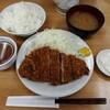 いちかつ - 料理写真:ロースかつ定食(700円)
