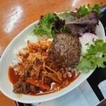 cafe&ジビエ - 料理写真:ジビエロコモコ