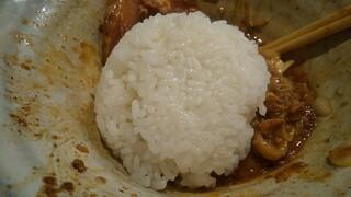 自家製麺 つきよみ - 〆ご飯