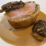 フランス料理 ル・クール - フランス座仔牛とフォアグラのパイ包み焼き