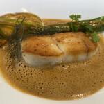 フランス料理 ル・クール - ヒラメのポワレ