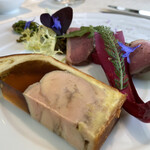 フランス料理 ル・クール - フォアグラのブリオッシュ包み