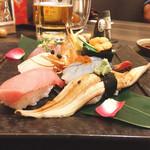 寿し×海鮮酒場 酔灯屋 - 上にぎり寿司