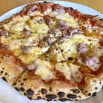 ピッツァベアベア - 料理写真:ピッツァランチ 自家製サルシッチャのピッツァ