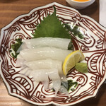 今日も大漁!天神 大晴海 - イカ刺しは黄身で食べる?