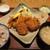 かつ敏 - 料理写真:(2021/2月)ホッケかつとヒレかつ50gと野菜揚げ定食