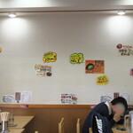 せんだい - 壁の貼り紙