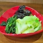 せんだい - 野菜盛 150円