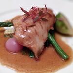 DINING 六区 - 三河一色漁港直送 本日の鮮魚のお料理〜鮎魚女のムニエル