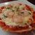 レノン - 料理写真:エビのピザ 玉ねぎを炒めたソースとチーズ・エビの相性が抜群(2021年4月)