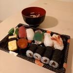 誠寿司 - Aランチ 850円