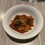 炭火焼肉 羅山 - 白菜キムチ(450円)