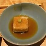 15084016 - 揚げだし胡麻豆腐(2012.9)