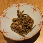 15084023 - ゼンマイと油揚げの煮物(2012.9)
