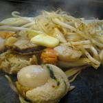浜作 - ホタテバター焼き