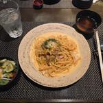 銀座あしべ - パスタランチ 1200円