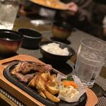 銀座あしべ - ポテト大好きな子供がめっちゃ喜んでた! 雰囲気が良くて 背伸びできたお店だったらしい✨