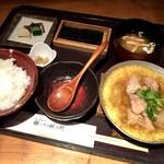 京の米料亭 八代目儀兵衛 - 京のあんかけ親子丼の銀シャリ御膳