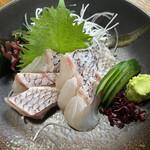 まるたか - 真鯛 刺身700円