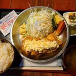 路地裏とり料理 かまくら番長 - ランチ:チキン南蛮定食