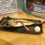 海鮮処 函館山 - 八角焼き(1580円)