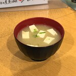 海鮮処 函館山 - 青さのり味噌汁(380円)