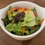 ひなたキッチン - ランチのサラダ