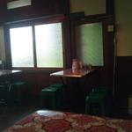 越南食卓 - 洋館にポップなテーブルと椅子