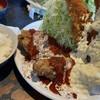 スマイリー - 料理写真:エビフライセット(唐揚げ2個ver.トマトソース)