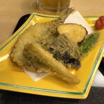 鯖と創作料理の店 廣半 - 鯖天ぷら