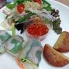 オリエンタルデリ - 料理写真:バンコクセット(生春巻き、タイ春雨サラダ、タイ風さつま揚げ)850円